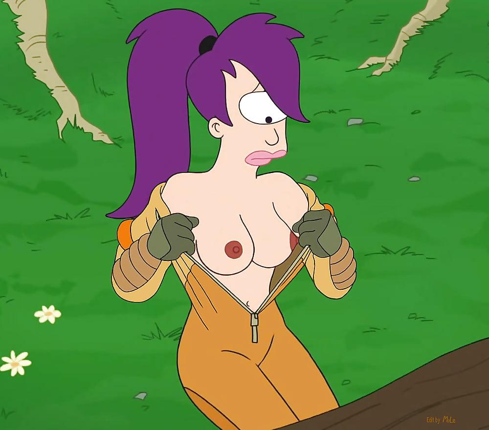 leela se desnuda en futurama xxx