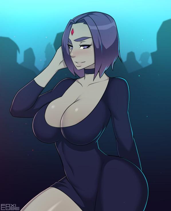 Raven tetona