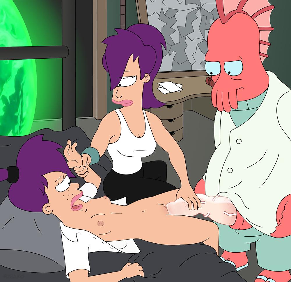 Futurama Hentay leela incesto con su hermana menor futurama hentai sex