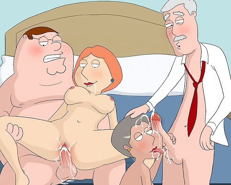 Family guy american dad porn
