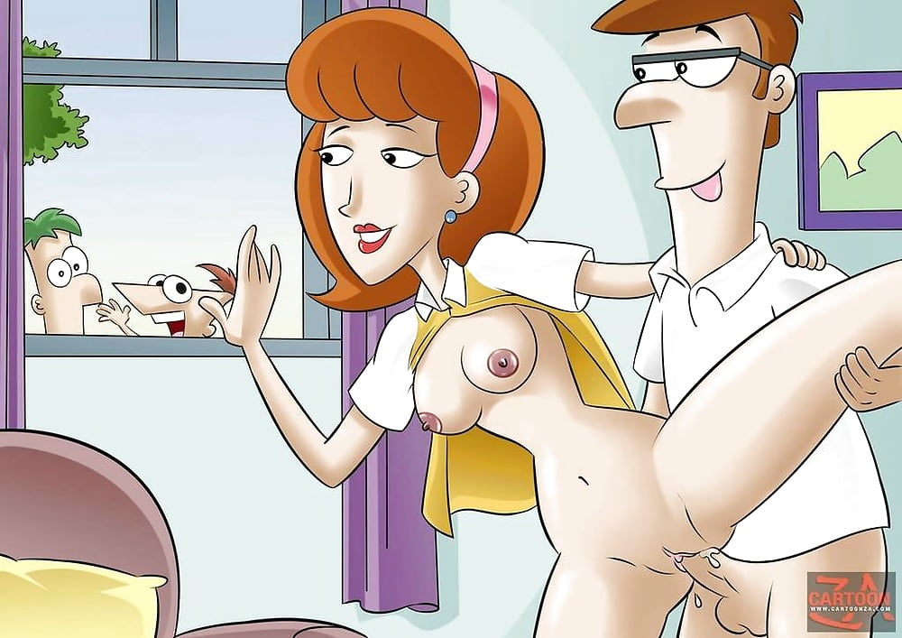 phineas and ferb Sexo mama y papa