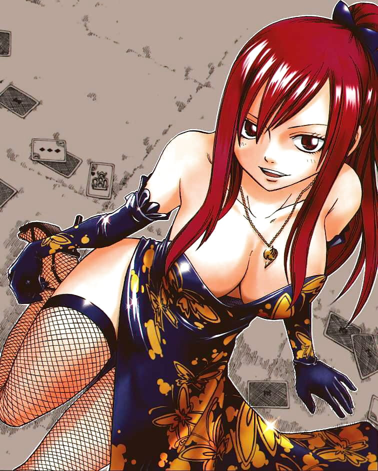 The Super Fine Erza Scarlet Hentai (Fairy Tail)