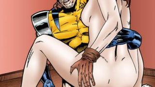 Hentai Porno de los X-Men.