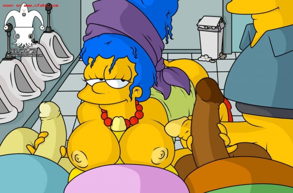 Marge Simpson Sex