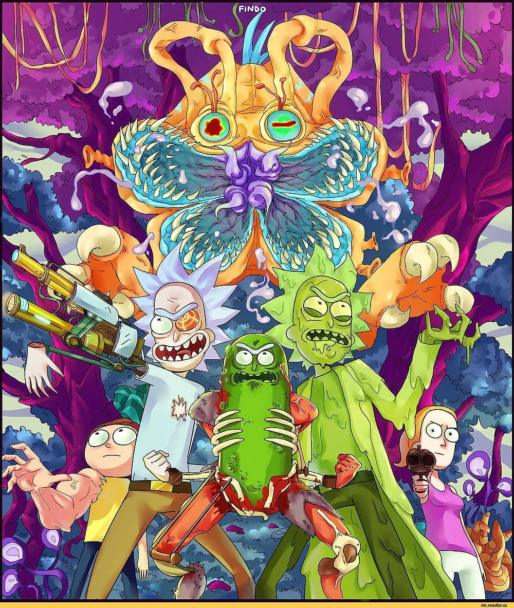 Rick and morty LSD