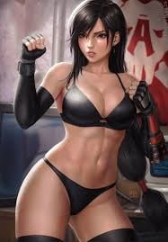 Final fantasy slut Tifa