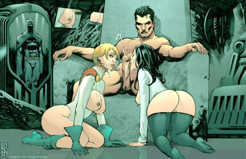 DC Hentai porn
