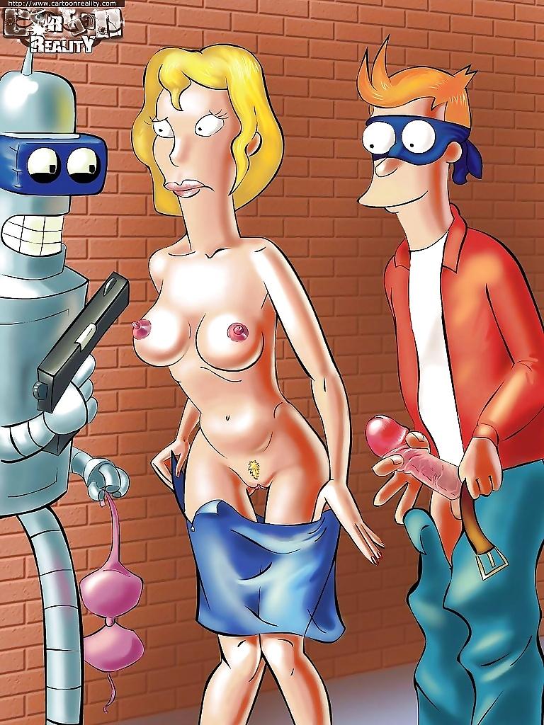 futurama sex