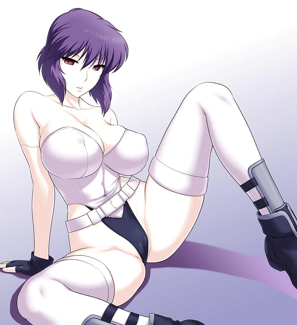Motoko Kusanagi hentai GHOST IN THE SHELL