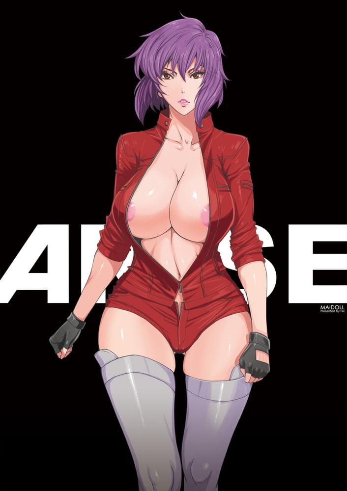Motoko Kusanagi sexy