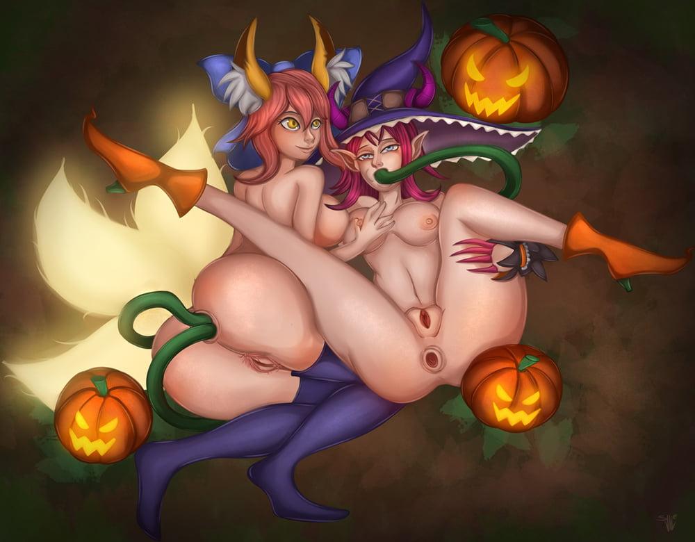 porno en halloween