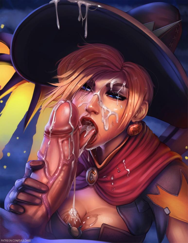 sexy halloween hentai